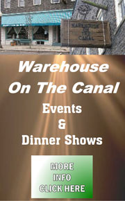 Warehouse on the Canal: Events & Dinner Shows
